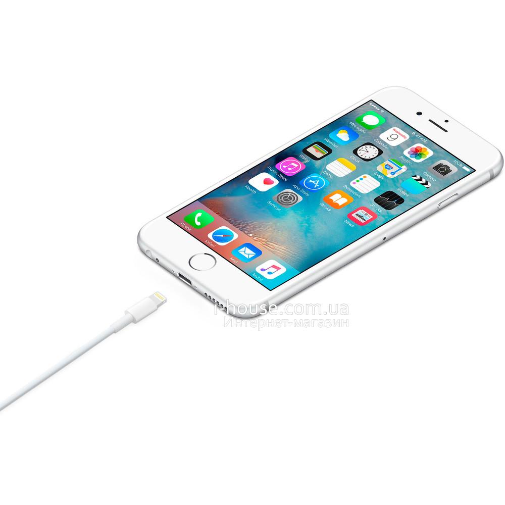 Купить Оригинальная зарядка для iPhone (Айфон) 5, 5S, 6, 6 Plus, 6s, 6s Plus, 7, 7 Plus, 8, 8 Plus, X (10), XS, XR, 11 Pro Max USB кабель, iPad 4, Air, mini, Pro, 7
