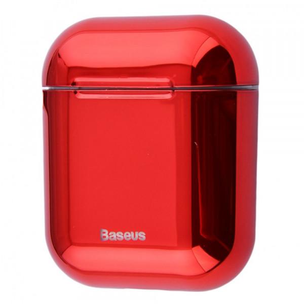 Чехол для AirPods 1/2 Baseus Shining Hook (Red)