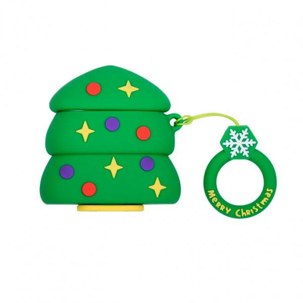 Чехол для AirPods/AirPods 2 Big Hero Christmas №3 Christmas Tree