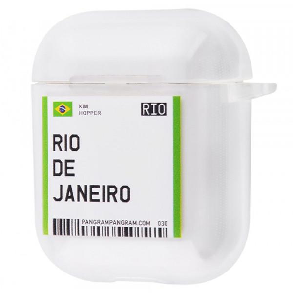 Чехол для AirPods 1/2 Travel (Rio de Janeiro)