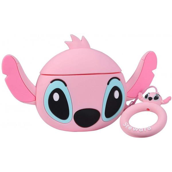 Чехол на AirPods Stitch Pink