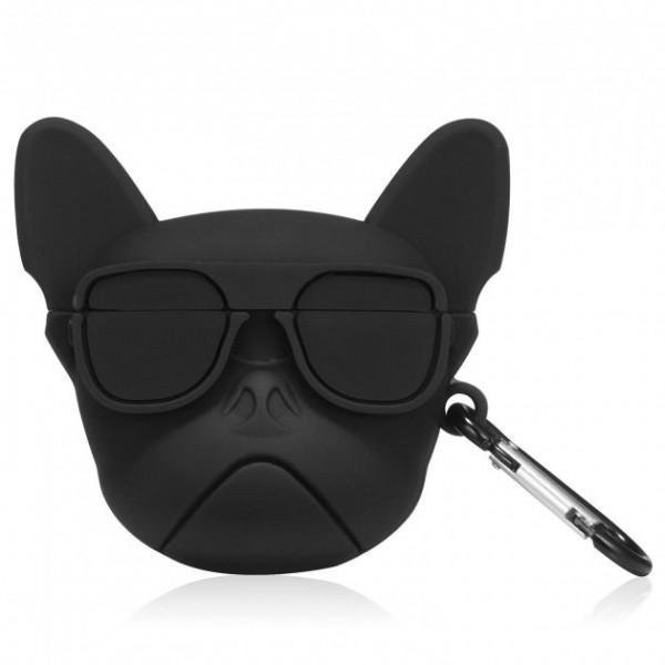 Чехол на AirPods toys Dog (Black)