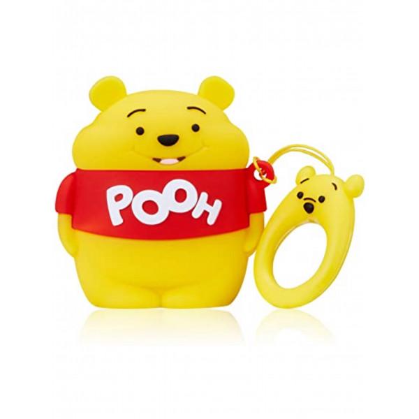Чехол на AirPods toys Winnie Pooh (Yellow)