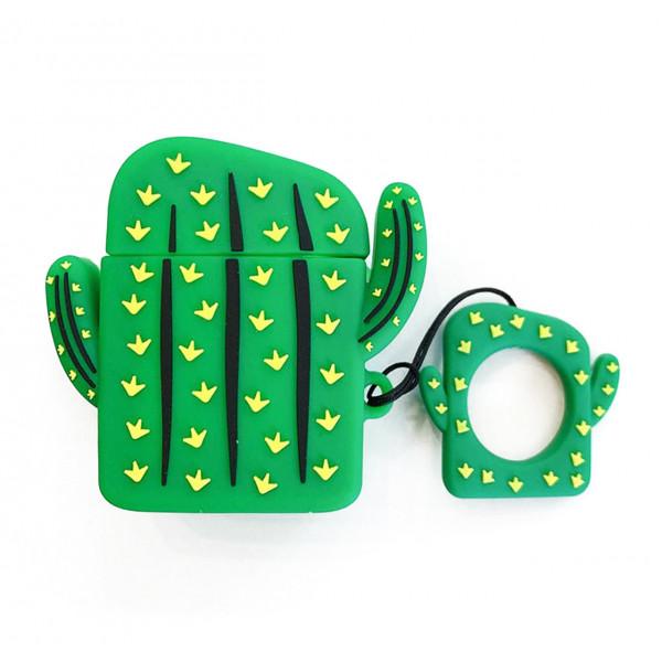 Чехол на AirPods 1/2 Emoji Series (Cactus)