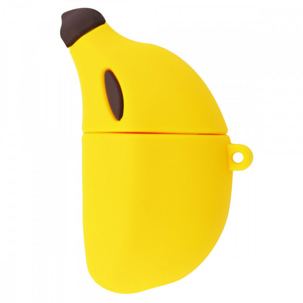 Чехол на AirPods 1/2 Emoji Series (Banana)