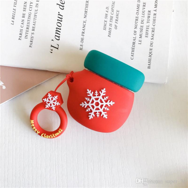 Чехол на AirPods Toys Mitten Green Red