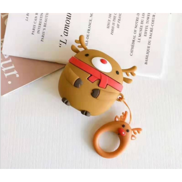 Чехол на AirPods Toys Deer Brown