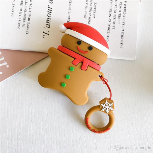 Чехол на AirPods Toys Gingerbread Brown