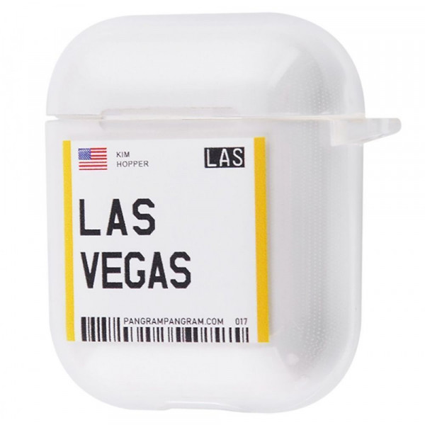 Чехол для AirPods 1/2 Travel (Las Vegas)