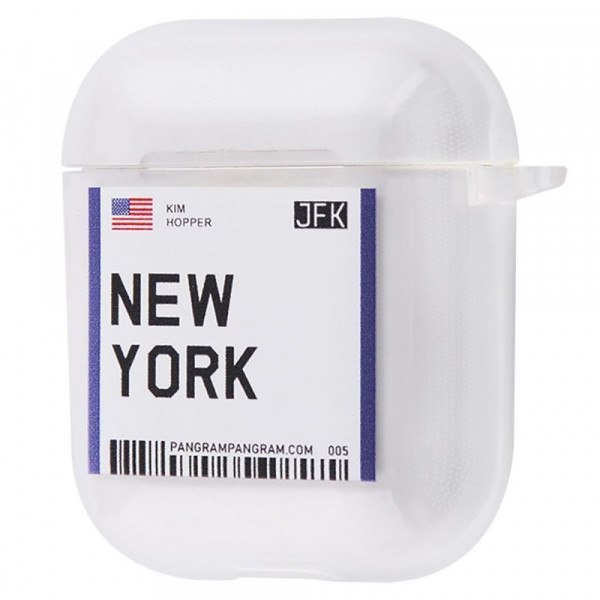 Чехол для AirPods 1/2 Travel (New York)