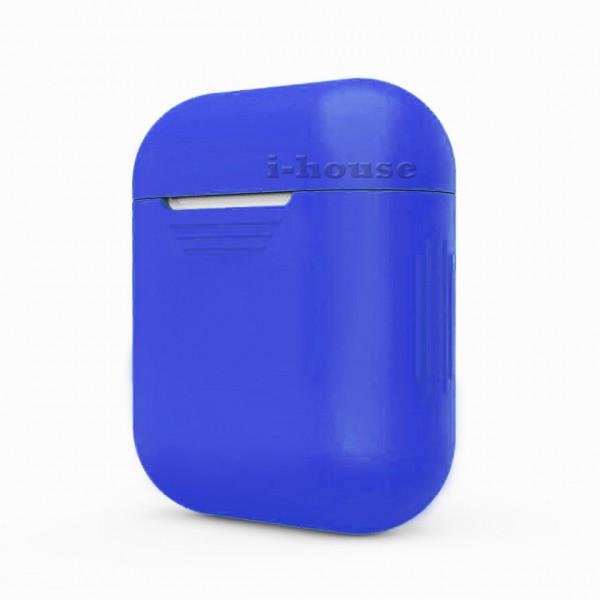 Чехол для Airpods Silicone Case (Ultramarine)
