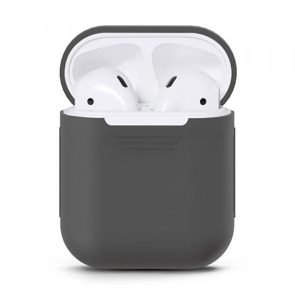 Чехол для Airpods Silicone Case (Gray)