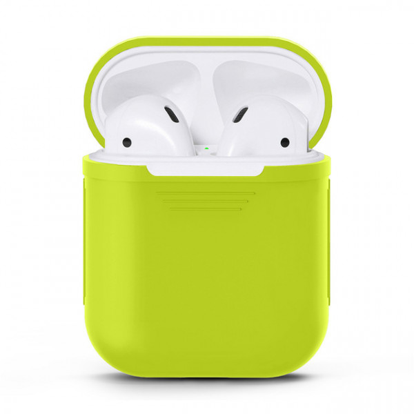 Чехол для Airpods Silicone Case (Green)