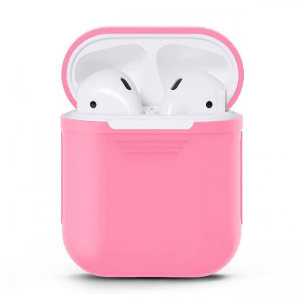 Чехол для Airpods Silicone Case (Pink)