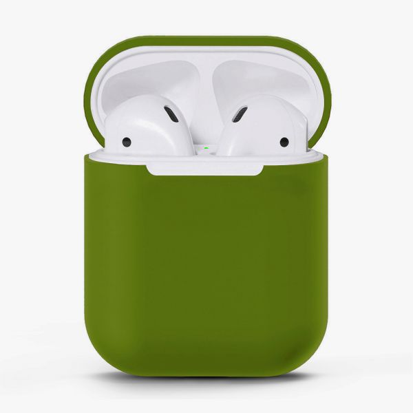 Чехол для Airpods Silicone Case (Khaki)
