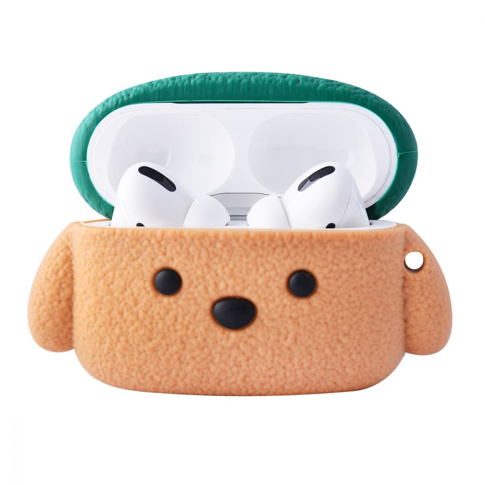 Чехол для AirPods Pro Teddy Dog (Brown)