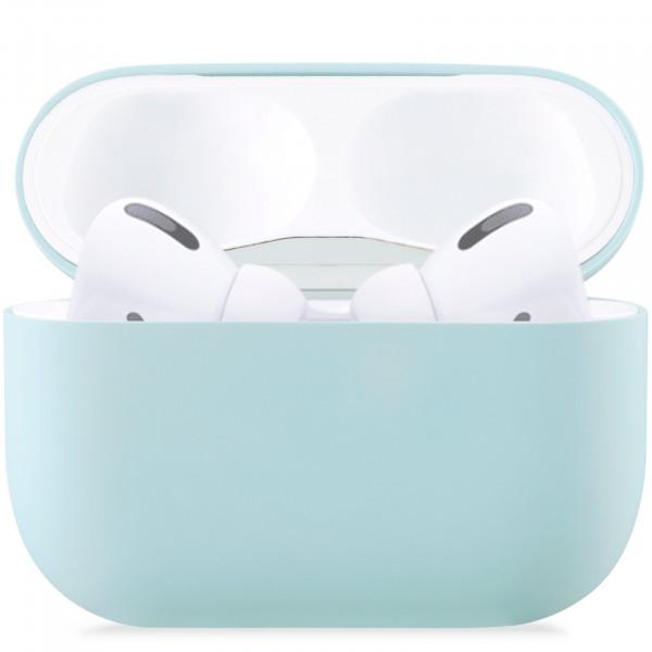 Чехол для AirPods Pro Silicone Slim Case (Mint)