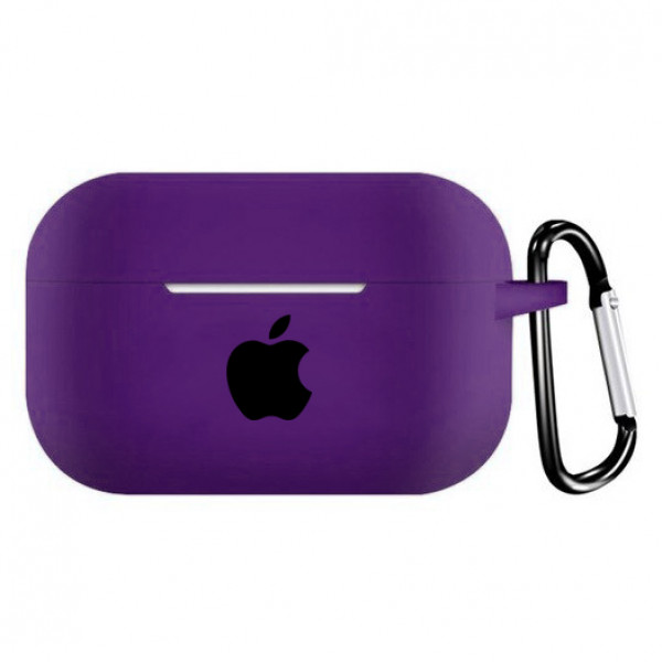 Чехол для AirPods Pro Silicone Case (Purple)