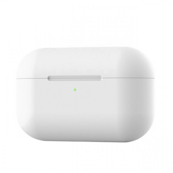 Чехол для AirPods Pro Silicone Slim Case (White)