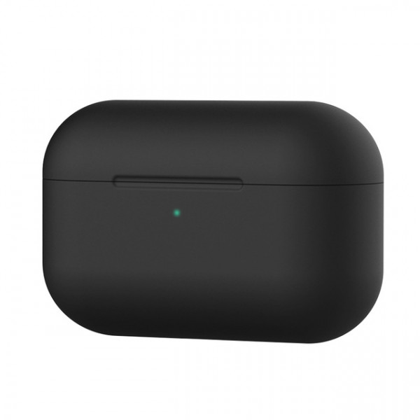 Чехол для AirPods Pro Silicone Slim Case (Black)