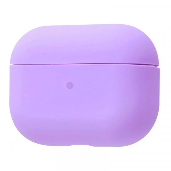 Чехол для AirPods Pro Silicone Slim Case (Purple)