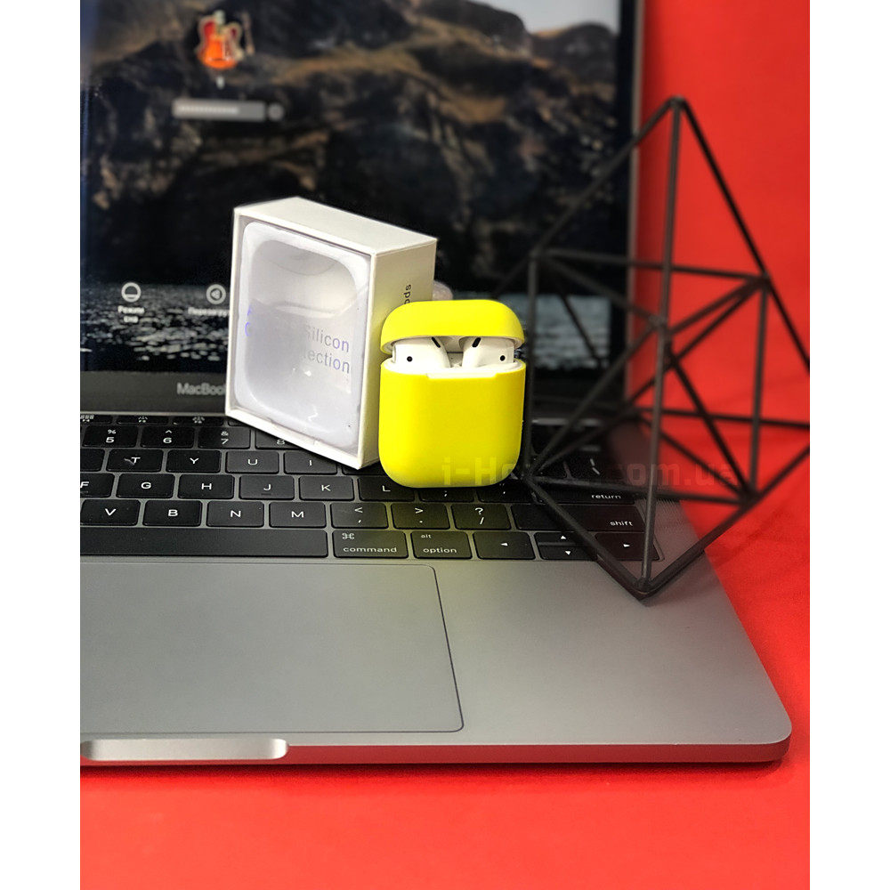 Чехол для AirPods 1 / 2 Silicone Slim Case (Flash)