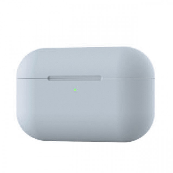 Чехол для AirPods Pro Silicone Slim Case (Gray)
