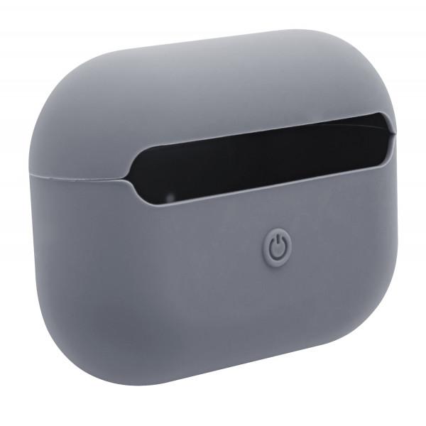 Чехол для AirPods Pro Silicone Slim Case (Lavender Gray)