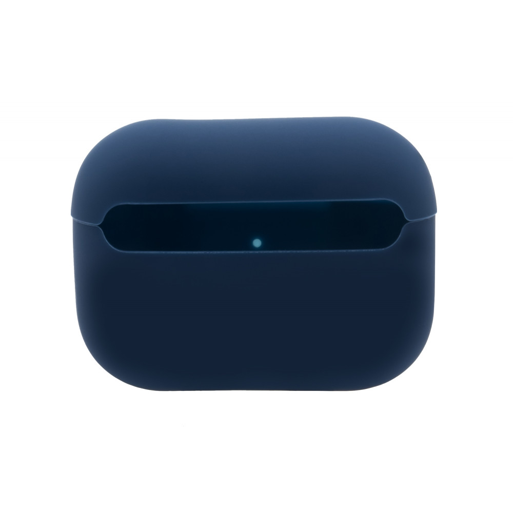 Чехол для AirPods Pro Silicone Slim Case (Midnight Blue)