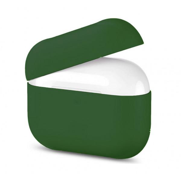 Чехол для AirPods Pro Silicone Slim Case (Pine Green)