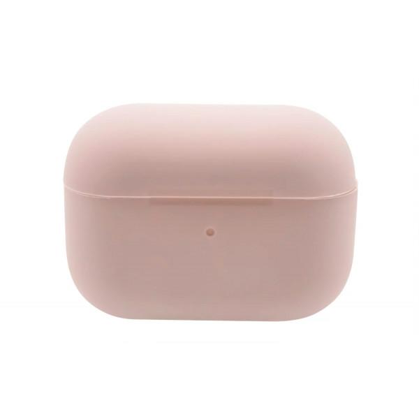 Чехол для AirPods Pro Silicone Slim Case (Pink Sand)