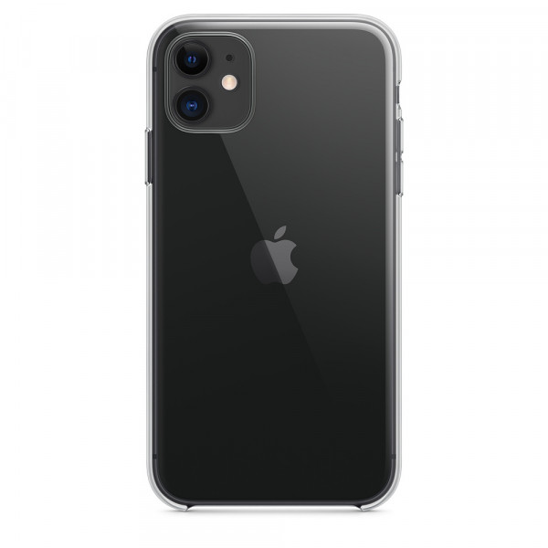 Чехол Clear Case для iPhone 11 (Black)