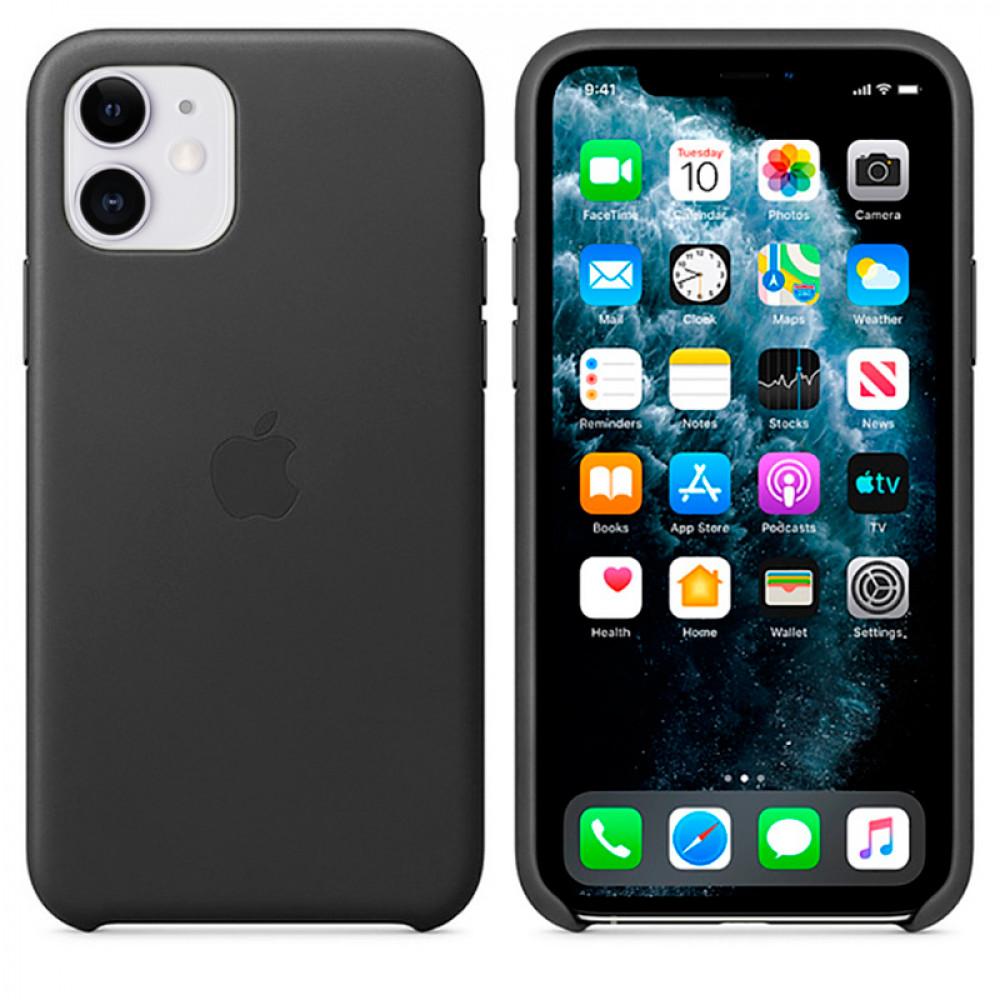 Чехол Good Leather Case для iPhone 11 (Black)