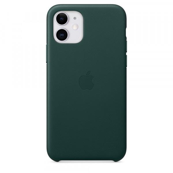Чехол Good Leather Case для iPhone 11 (Forest Green)