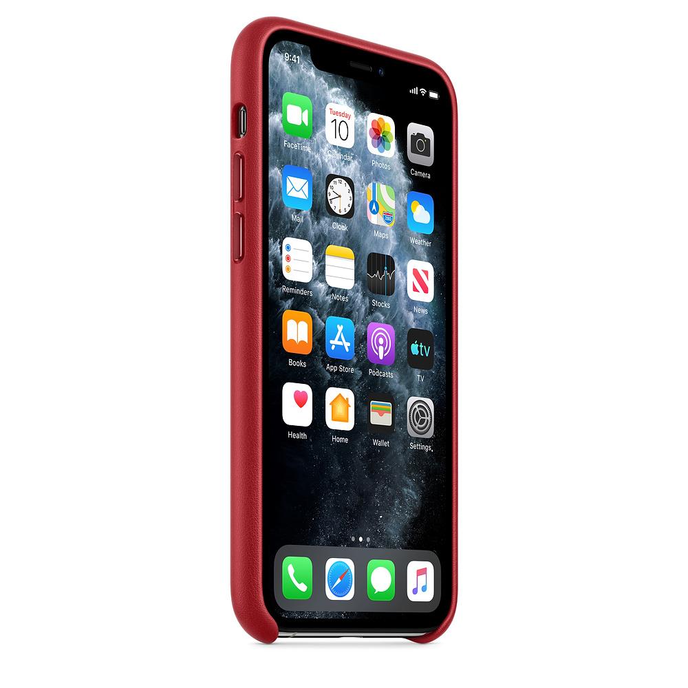 Чехол Good Leather Case для iPhone 11 (Red)