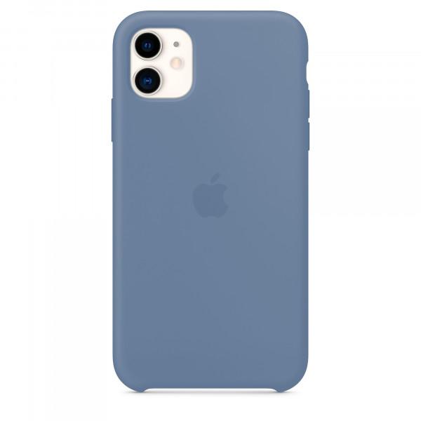 Чехол для iPhone 11 Silicone Case (Alaskan Blue) OEM