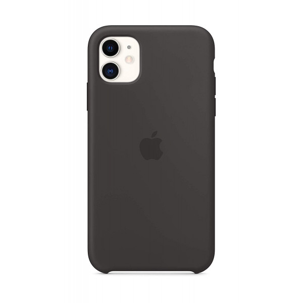 Чехол для iPhone 11 Silicone Case (Black) OEM