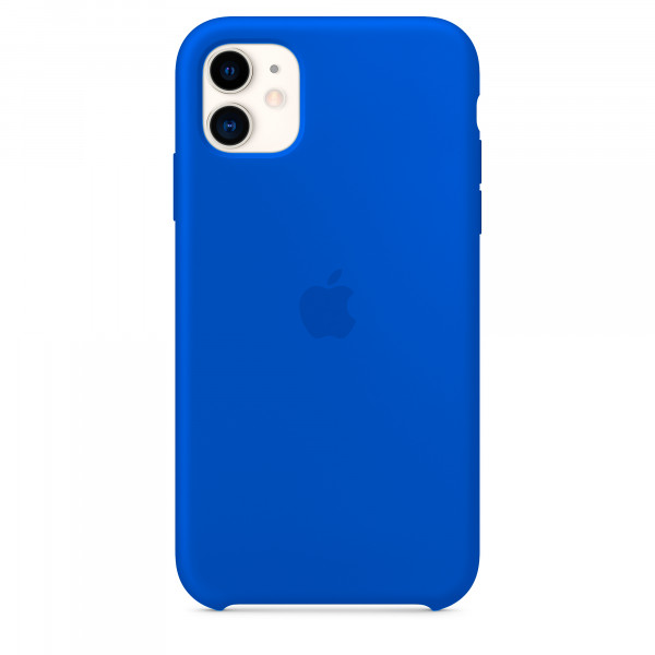 Чехол для iPhone 11 Silicone Case (Blue Cobalt) OEM