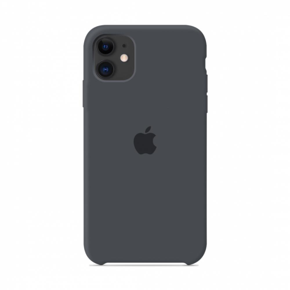 Чехол для iPhone 11 Silicone Case (Charcoal Grey) OEM