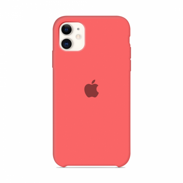 Чехол для iPhone 11 Silicone Case (Coral) OEM