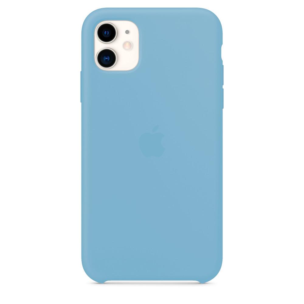 Чехол для iPhone 11 Silicone Case (Cornflower) OEM