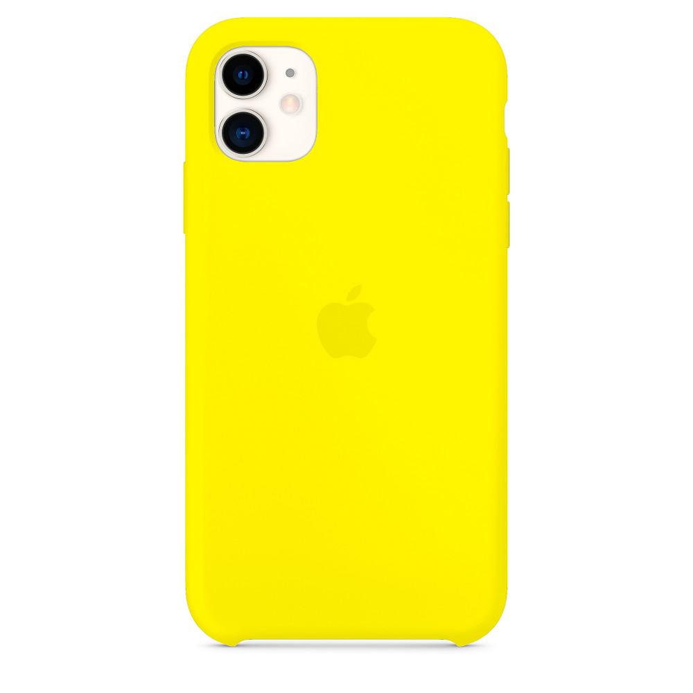 Чехол для iPhone 11 Silicone Case (Flash) OEM