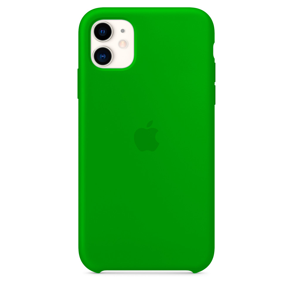 Чехол для iPhone 11 Silicone Case (Forest Green) OEM
