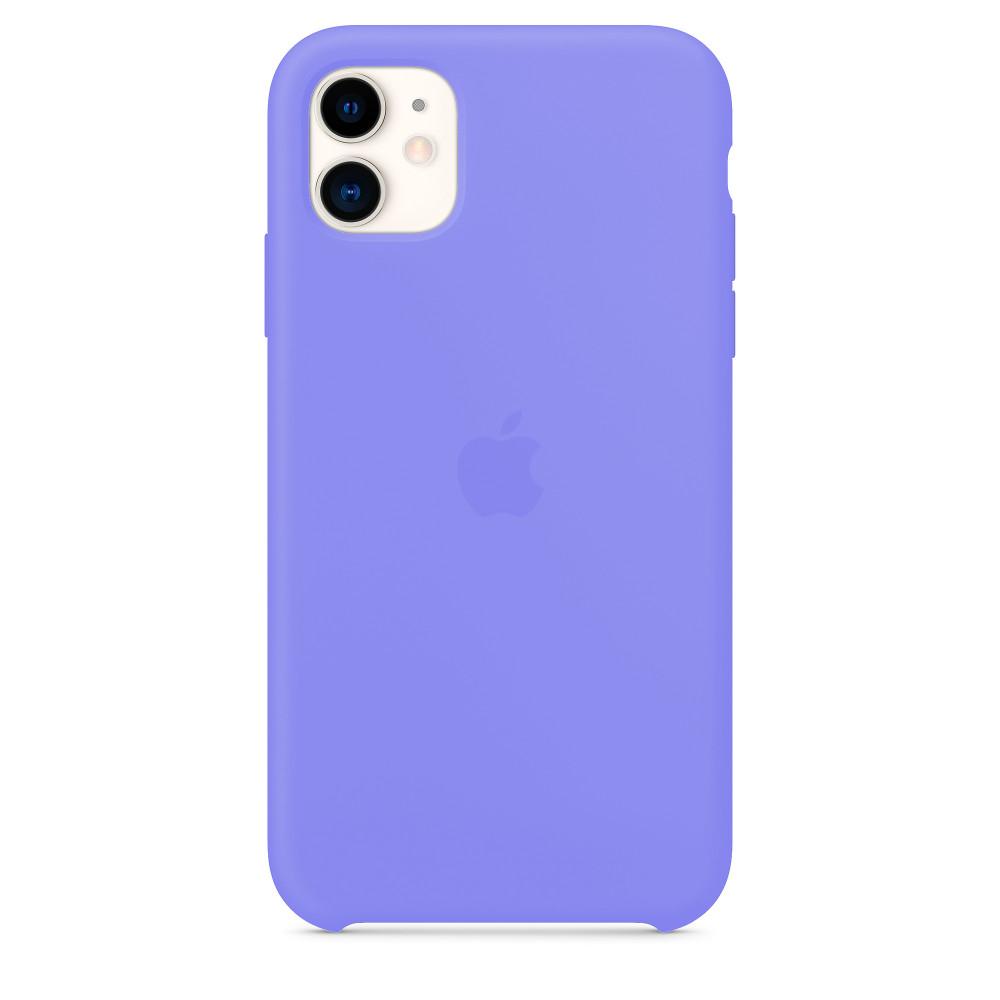 Чехол для iPhone 11 Silicone Case (Glycine) OEM