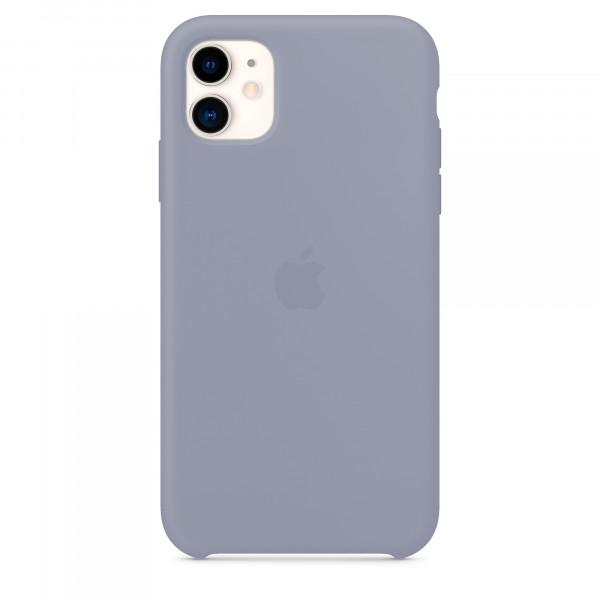 Чехол для iPhone 11 Silicone Case (Lavender Grey) OEM