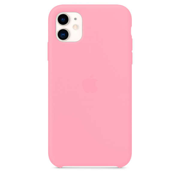 Чехол для iPhone 11 Silicone Case (Light Pink) OEM