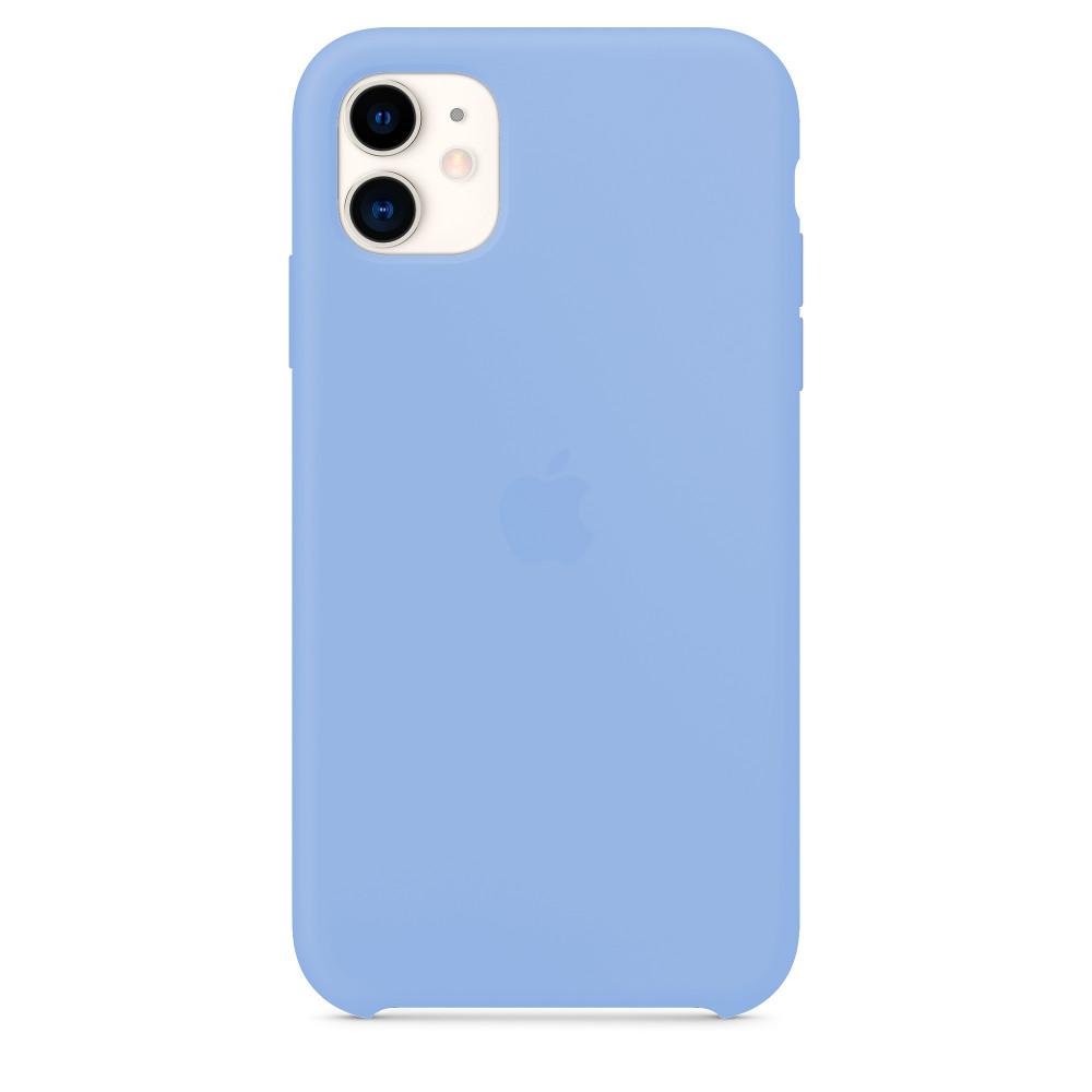 Чехол для iPhone 11 Silicone Case (Lilac Cream) OEM