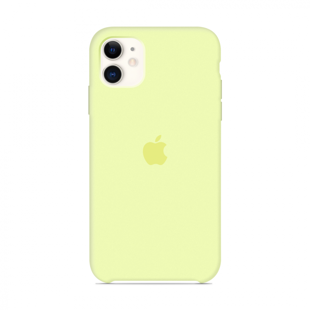 Чехол для iPhone 11 Silicone Case (Mellow Yellow) OEM