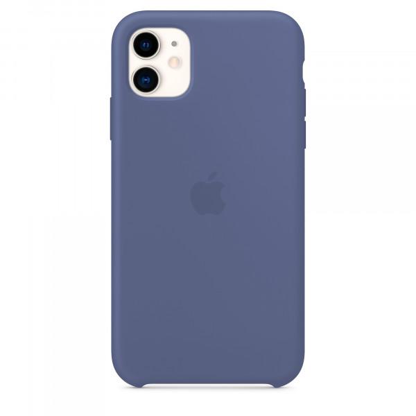 Чехол для iPhone 11 Silicone Case (Midnight Blue) OEM