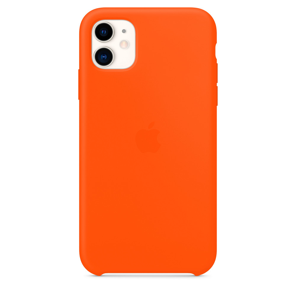 Чехол для iPhone 11 Silicone Case (Orange) OEM